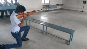 Rifle shooting training